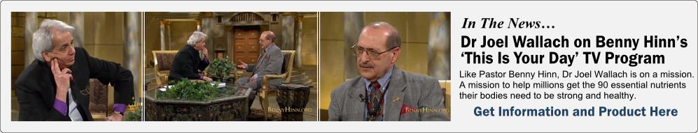 Dr Wallach Benny Hinn TV Show 2
